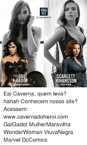 Scarlett Johansson Memes - cinema facts ig i gal gadot scarlett johansson wonder woman black