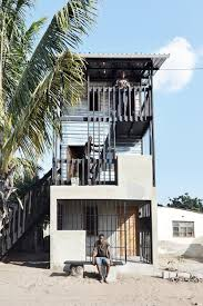 Low Cost House Design by Low Cost House In Mozambique Features Corrugated Iron And Wood