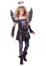 black dress for halloween party teen spooky angel costume costumes halloween costumes and