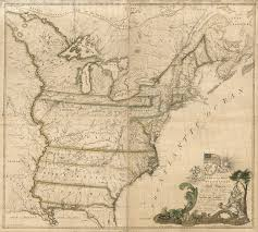 map of america the map of america in 1784 history smithsonian