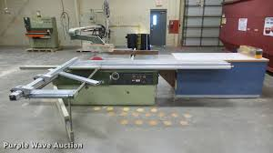 sliding table saw for sale scmi s116w sliding table saw item dw9217 sold december