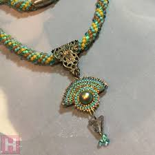 crochet necklace images Crochet necklace modern aztec influence how to clearlyhelena jpg