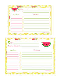 awesome collection of 8 recipe card template free epic free recipe