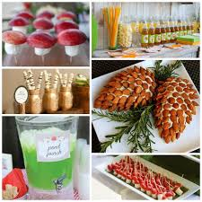 woodland party food u0026 drinks b lovely events
