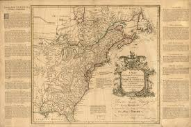 North America Map 1700 by 1750 To 1754 Pennsylvania Maps