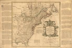 Louisiana Plantations Map by 1750 To 1754 Pennsylvania Maps