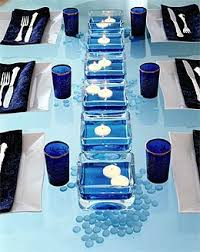 blue centerpieces best wedding ideas lovely navy blue wedding centerpieces theme