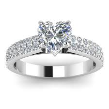 engagement ring round diamond in square setting 4 ifec ci com