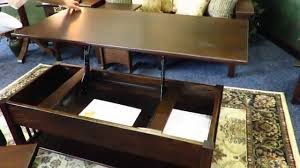 Flip Top Coffee Table by Mission Rectangular Lift Top Coffee Table At Dutchcrafters Youtube