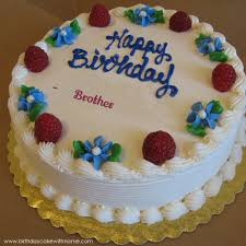 birthday cake for brother name image inspiration of cake and