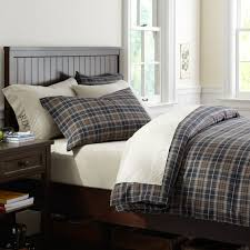 Pb Teen Duvet Classic Plaid Organic Duvet Cover Pillowcases Pbteen