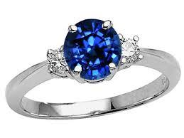blue wedding rings engagement rings