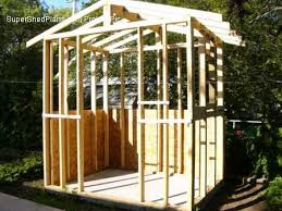 Small Wood Storage Shed Plans by Custom Design Shed Plans 12x16 Gable Storage Diy Wood Shed Plans