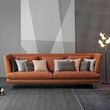 canapé cuir fauve canapé cuir design scandinave urbantrott com