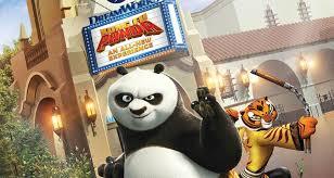 kung fu panda u0027 attraction replace shrek 4 universal