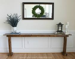 Narrow Console Table Diy Console Table 5 Ways Narrow Console Table Console Tables