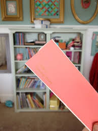 coral u0026 grey book shelves u2014 the pleated poppy