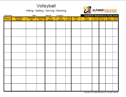 Stat Sheet Template Stat Sheet Keep Track Of The Players The Scores