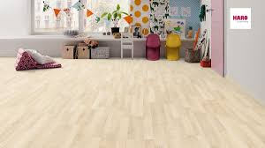 Haro Laminate Flooring Laminate Special Edition Nkl 31 Velvet Cream Oak 3 Strip Plank