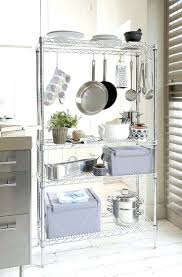 storing pots and pans in small kitchen best way to store pots and