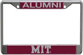 harvard alumni license plate frame mit alumni license plate holder