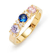 grandmother rings birthstone rings custom birthstone ring