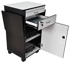 multimedia cart with locking cabinet multimedia stand for classrooms features built in locking storage