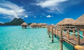 Tiki Hut On Water Vacation Bora Bora Pearl Beach Resort And Spa Tahiti Com
