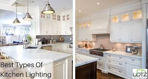 what is the best kitchen lighting the best types of kitchen lighting for your home by