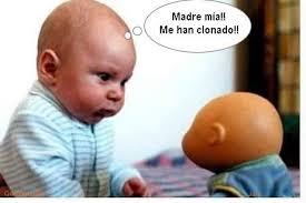 Meme Bebe - madre mia me han clonado bebe memes en quebolu