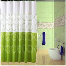 colorful circles shower curtain liner extra long peva bath