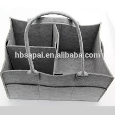 baby nursery storage bin felt baby diaper caddy for diapers and