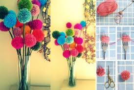 how to make beautiful pompom decorations step by step diy tutorial