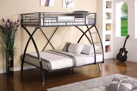 Cheap Bunk Beds Twin Over Full Amazon Com Furniture Of America Garrett Twin Over Full Bunk Bed
