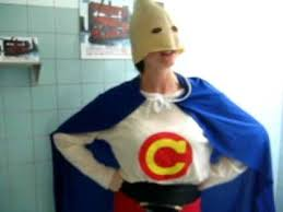 Halloween Condom Costume Captain Condom 003 Avi