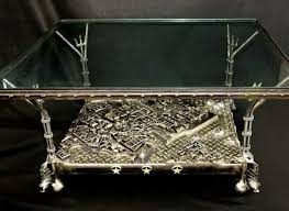themed coffee table custommade curator a steel city that fits in a coffee table