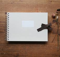 small photo album the magic notebook o check stationery