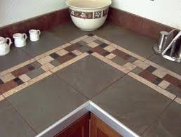 kitchen countertop tile ideas kitchen tile ideas on kitchen counter cut porcelain tile