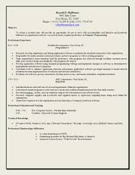 Sample Of Resume For Work by Cv Objective Statements Updated Examples Of Resumes Resume