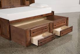 Pictures Of Trundle Beds Sedona Twin Roomsaver Bed W 2 Drawer Captains Trundle Living Spaces