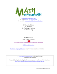 brilliant ideas of math worksheets go ii practice answers also