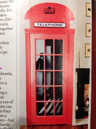 Phone Booth Bookcase Make Your Door Look Like A London Phone Booth Cool Decor Ideas