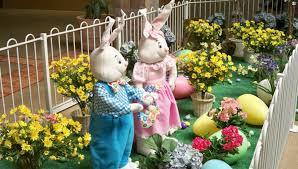 Easter Decor Garden – 40 Interesting Garden Ideas For Festive