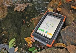 rugged handheld pc rugged pc review handhelds and pdas juniper systems mesa 2