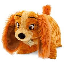amazon disney lady dog pillow pal plush pet doll