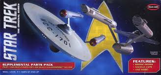 Polar Lights Models Star Trek U S S Enterprise Ncc 1701 50th Anniversary 1 350 Scale