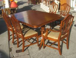 Duncan Phyfe Dining Room Table Uhuru Furniture U0026 Collectibles Sold Duncan Phyfe Table And 5