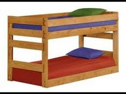 Low Height Bunk Beds YouTube - Height of bunk beds