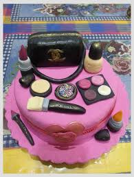 cake purse 3d party cakes with purse makeup theme cake bake