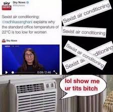Air Conditioning Meme - sexist air conditioning funny pinterest memes and meme